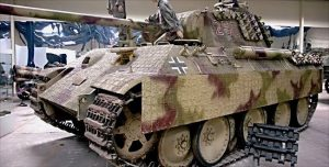 Restored WW2 German Panther Tank Father's Day gift idea