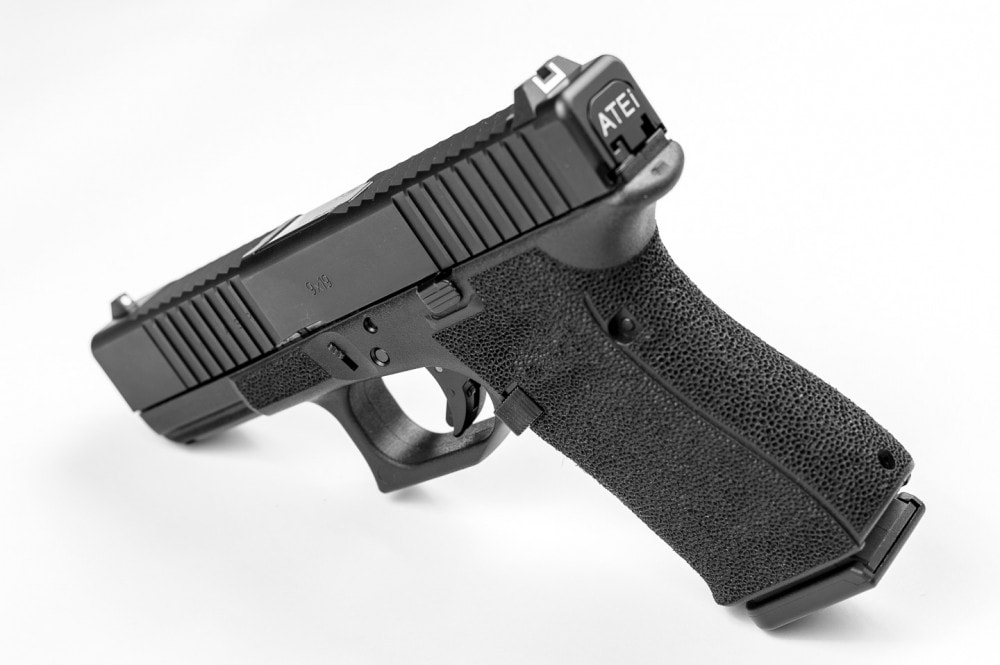 The ATEi A9 upgraded Gen 4 Dougified and ATEivolved pistol is back in stock in limited quantities.
