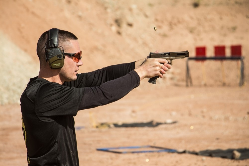 2018 Hard as Hell Heroes 2 Gun match  Southern Utah Practical Shooting Range - sponsored by KE Arms.