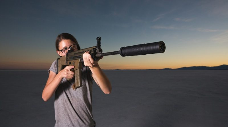 SilencerCo's modular rifle can
