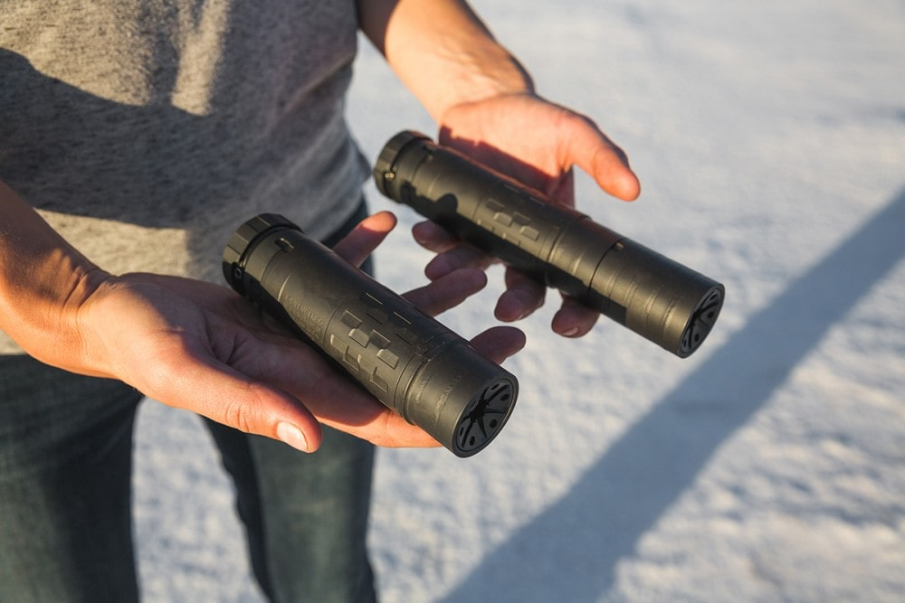 SilencerCo's modular suppressor: Stack it and shoot it, from handguns to rifles