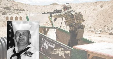 PO1C James E. Willliams, Medal of Honor Recipient, is the inspiration for this stage of the Hard as Hell Heroes 2 Gun Match at Southern Utah Practical Shooting Range.