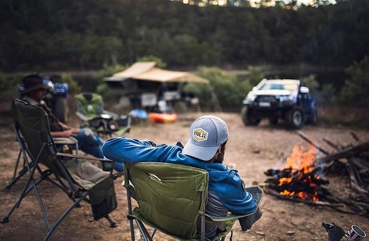 5.11 Tactical Summer Wear in Use hiking and camping