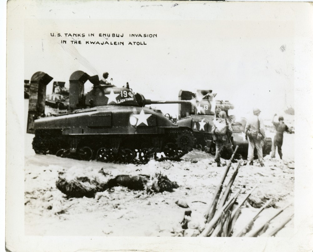 Eventually, armored units like the M4 Sherman were properly waterproofed before hitting the beach.