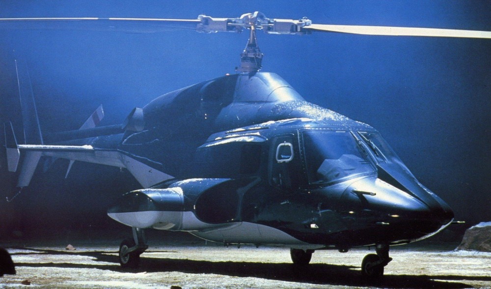 Airwolf - Stringfellow Hawke - CIA helicopter