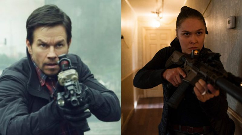 Mile 22 Mark Wahlberg and Ronda Rousey