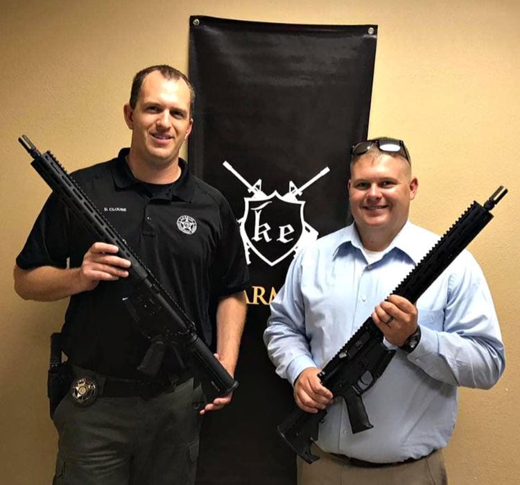 NCSO Deputies take possession of their new KE15 Action Carbines.