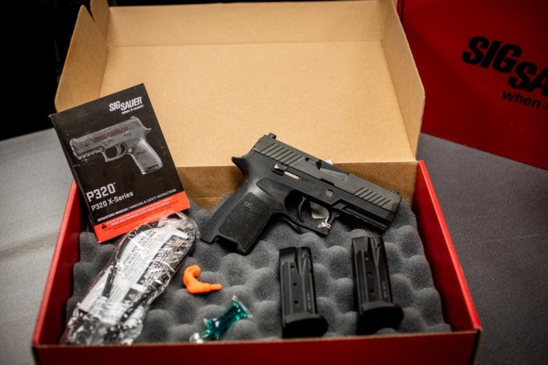 Proven Arms and Outfitters factory certified pre-owned SIG pistol.