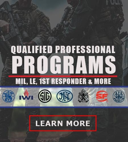 Proven Arms and Outfitters Qualified Professional Program will save you a LOT of money if you're military or a first responder.