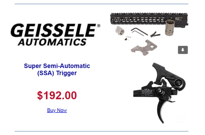 Geissele Triggers - Super Semi Automatic (SSA) Trigger at Proven Arms & Outfitters.