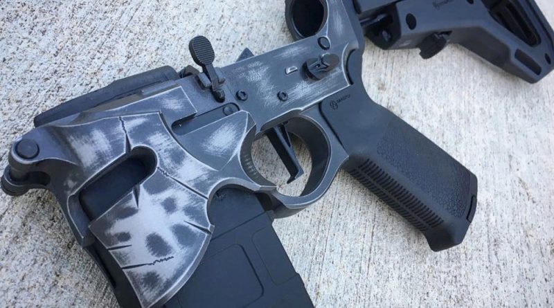 The Sharps Bros Overthrow Lower Receiver