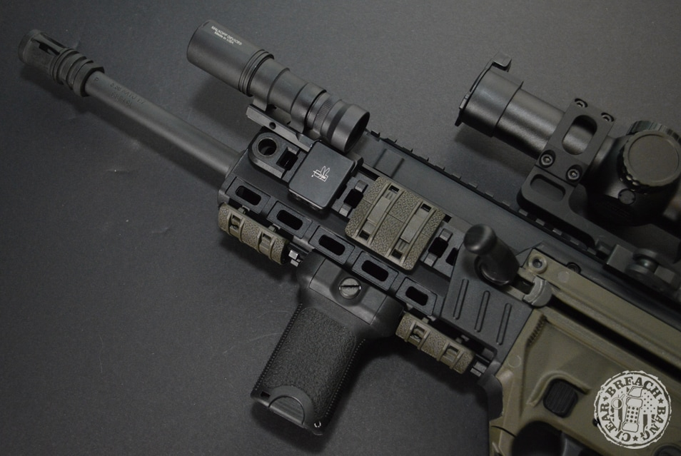 rail mounted accessories for the Tavor X95