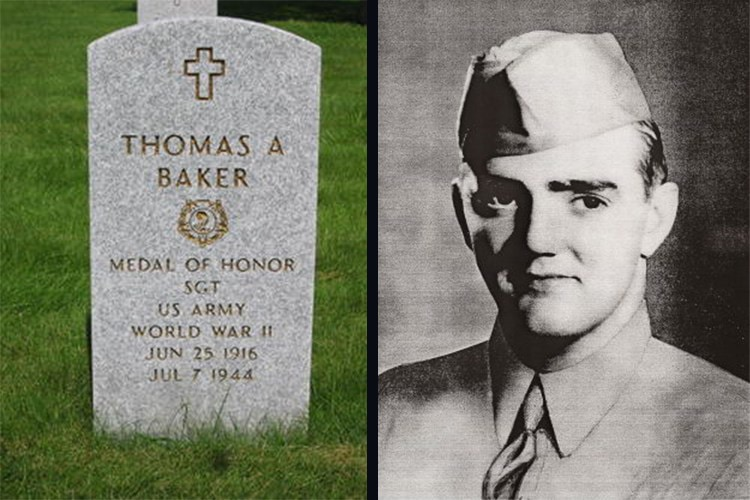 Thomas-A-Baker Medal of Honor Recipient
