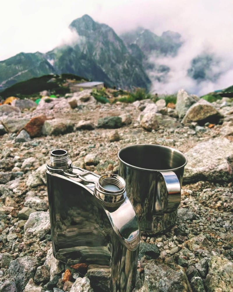 Rum in a flask on a mountainside - what is the best kind of rum?