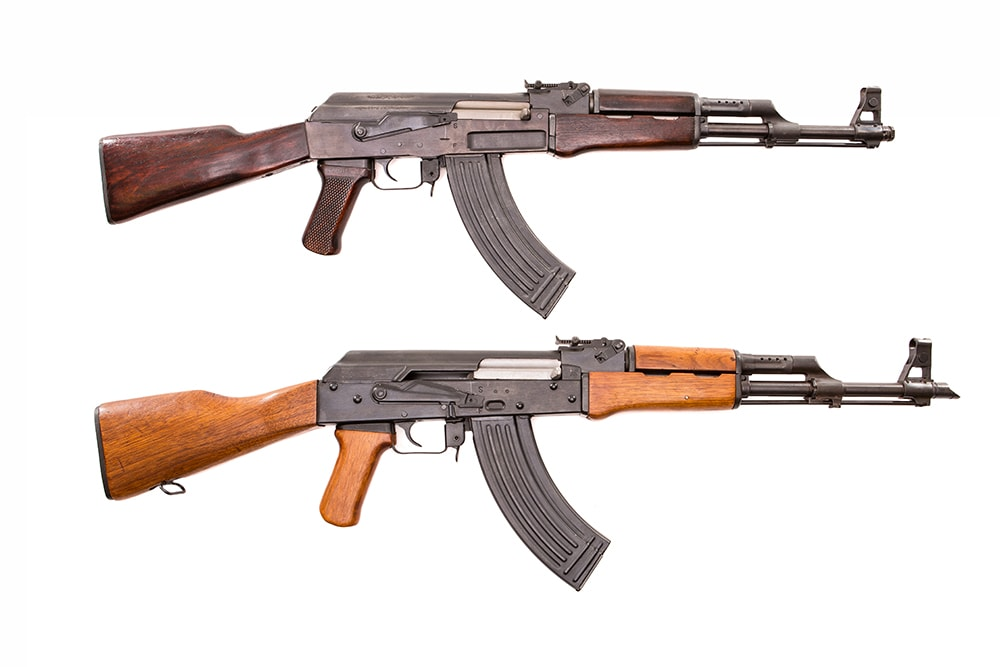 The best Chinese built AK47 rifles.