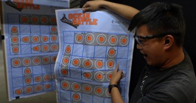 Action Target Game Series paper targets.