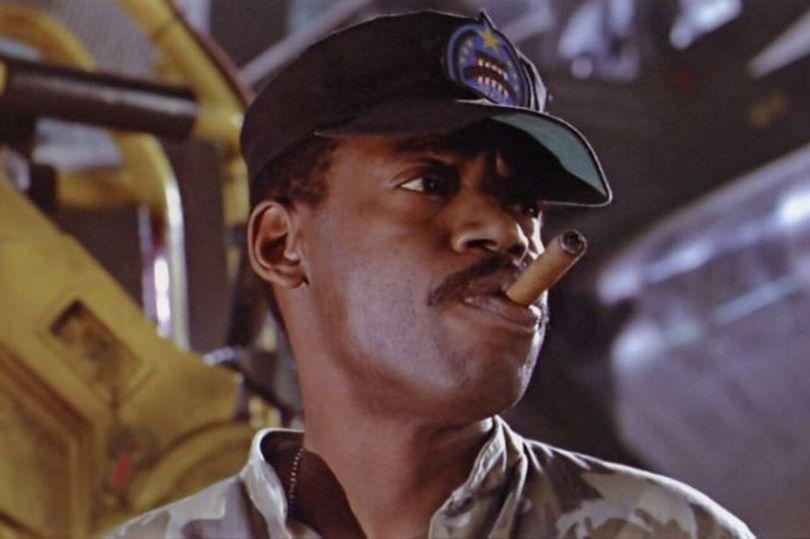 GySgt Apone of the Colonial Marines was played by Al Matthews, a former Marine Corps NCO and veteran of the Vietnam War.