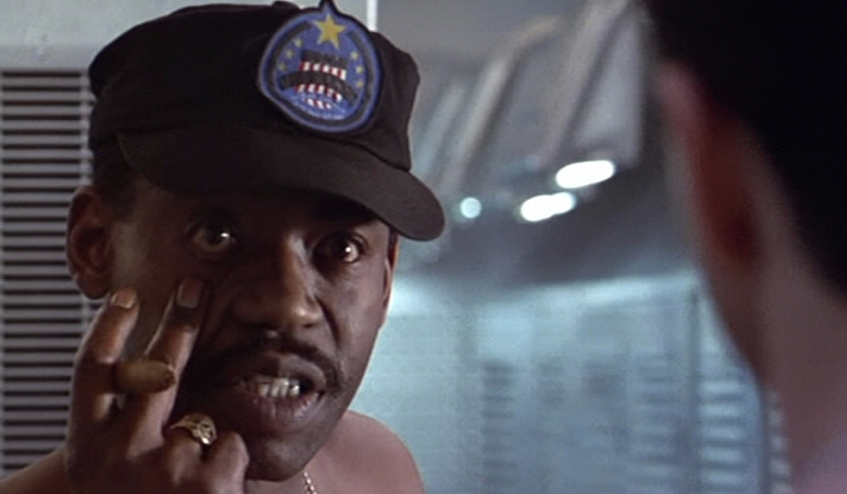 GySgt Apone of the Colonial Marines was played by Al Matthews, himself a Marine Corps veteran of the Vietnam War.