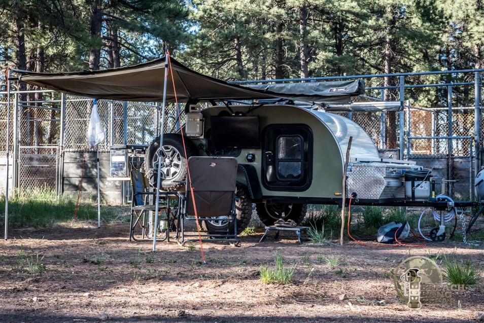 Camping in style at the Overland Expo