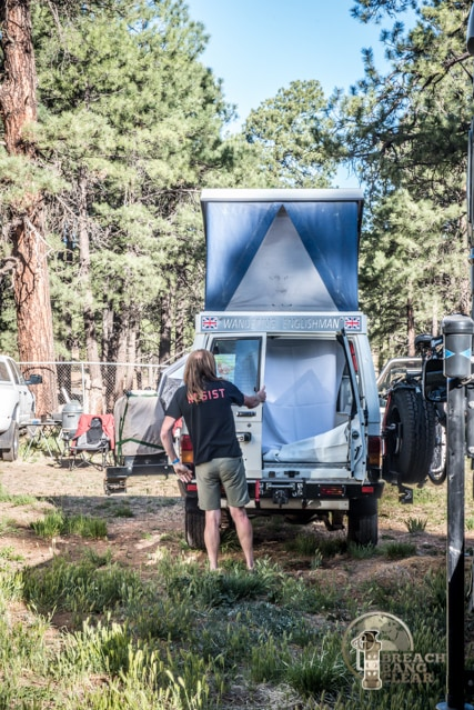 Overland vehicles and overland gear