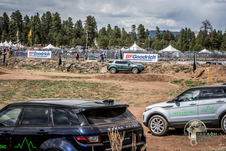 Range Rover Heaven at the Overland Expo