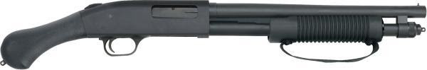 The Mossberg 590 Shockwave 6-shot is also available in 20 gauge for good performance with less recoil.