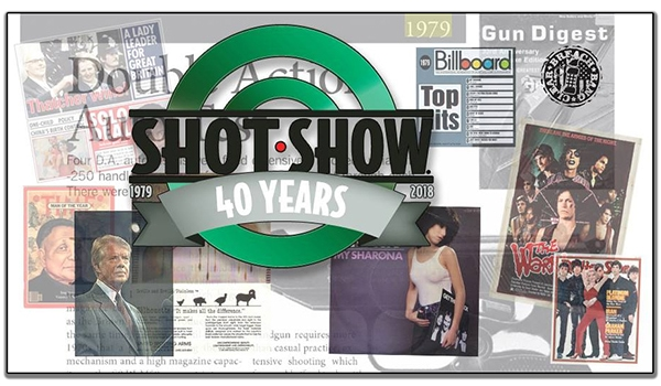 SHOT Show 2018 - the Shooting Hunting Outdoor Trade Show 40th Anniversary
