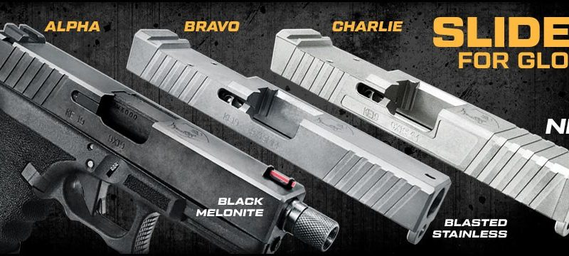 KE Arms slides for Glocks