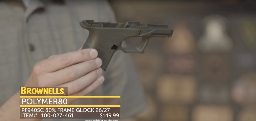 Polymer80 Glock 26/27 Subcompact 80% Frame