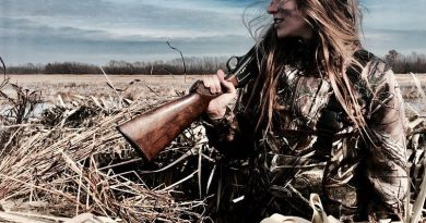 We admire huntresses - women who hunt and kill what they eat.