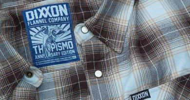 The Pismo Anniversary Flannel Shirt from Dixxon Flannel Co.