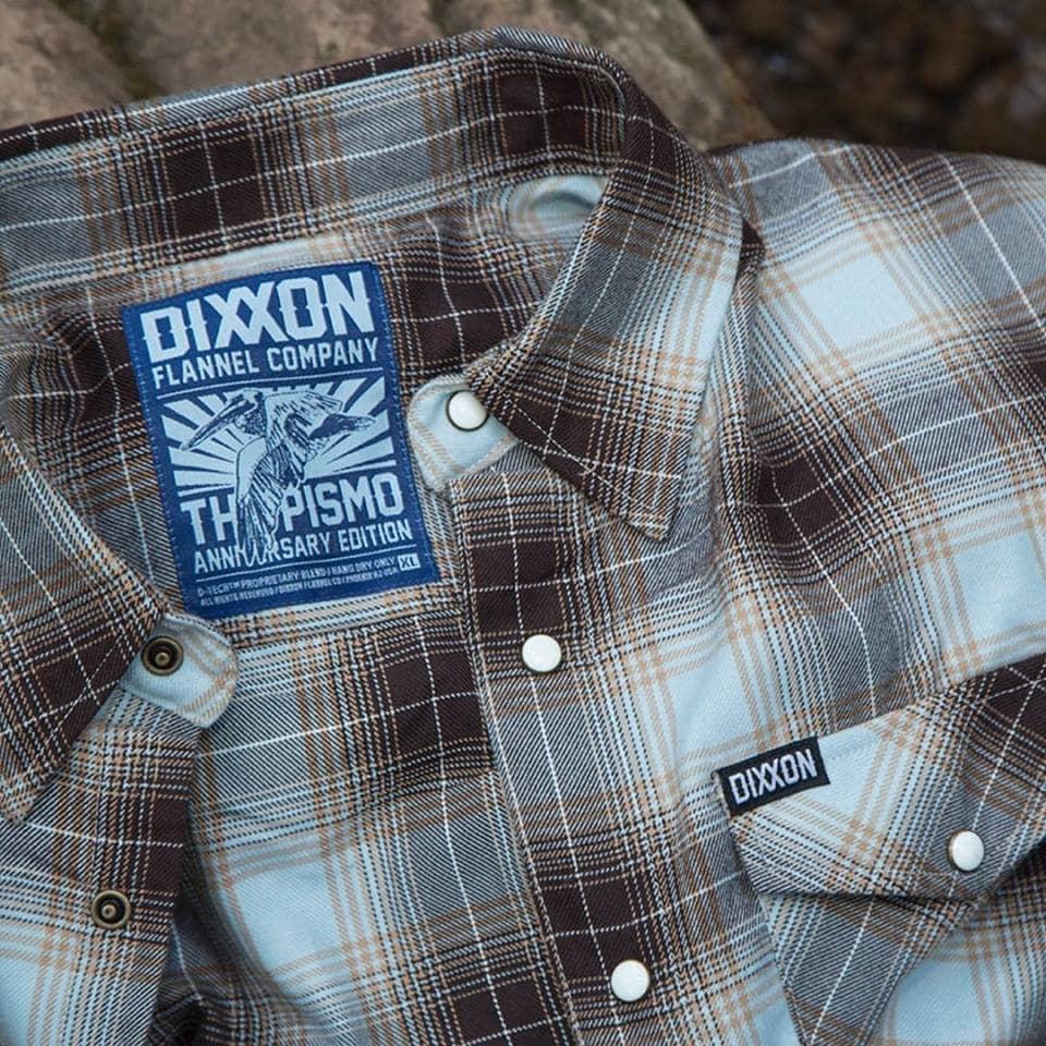 Pismo Anniversary Flannel Back In Stock | Dixxon Flannel Co.