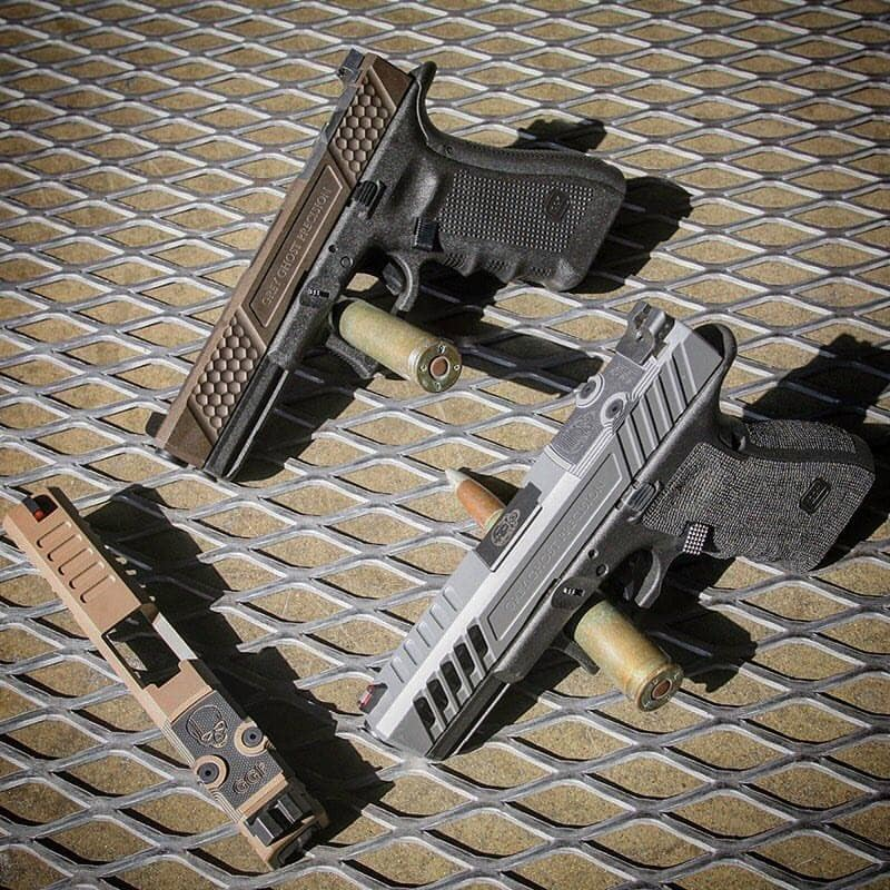 Grey Ghost Precision Glock slides, barrels, and other weapon upgrades are now available at Optics Planet.