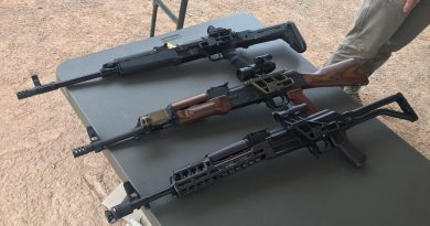 The weapon of the day! Kalashnikovs at Rifle Dynamics Red Oktober match.