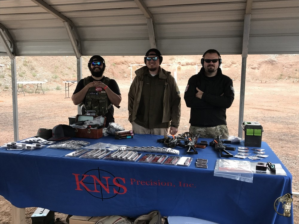 KNS Precision on display at Rifle Dynamics Red Oktober match.