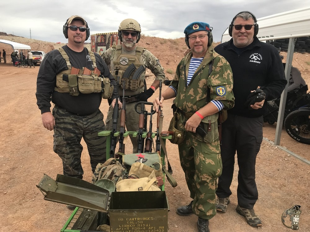 Competitors at the the Rifle Dynamics Red Oktober match.
