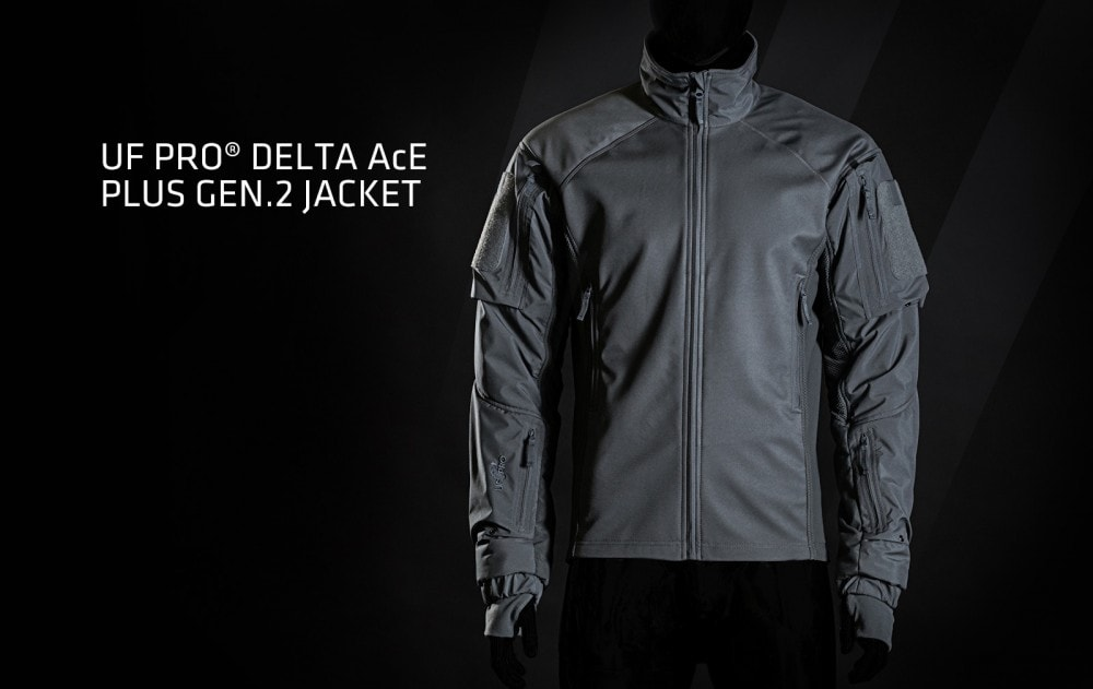 The UF PRO Delta AcE Plus Gen.2 Tactical Jacket with the AirPac system. It's high end tactical cold weather gear.