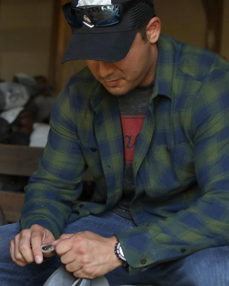"Tactical Distributors Inc. ""TD Tombstone Flannel"" Flannel Shirts come in several color ways and have replaces some of their buttons with snaps for concealed carry purposes."