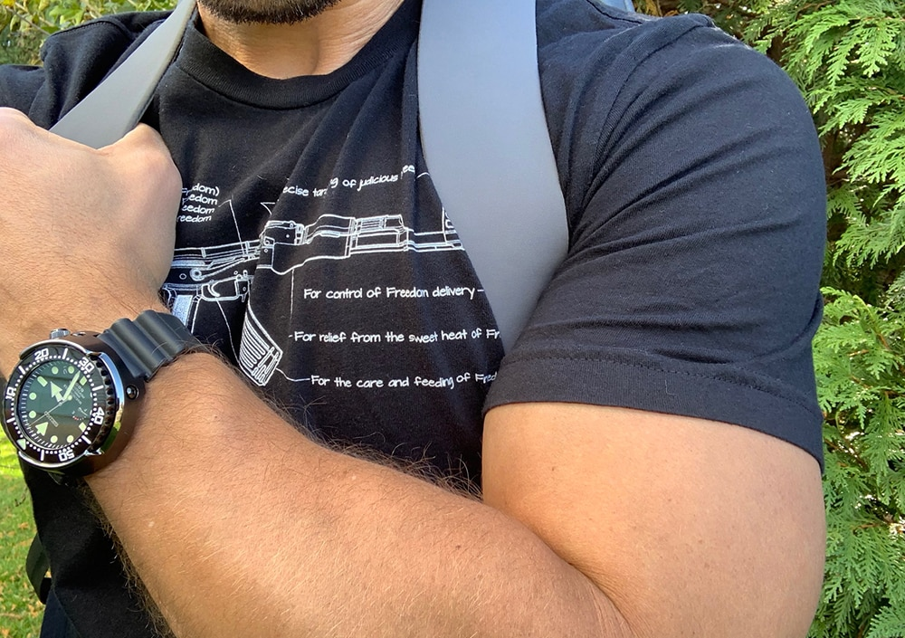 A review of the Arc'teryx Veilance Nomin review from Breach-Bang-Clear.