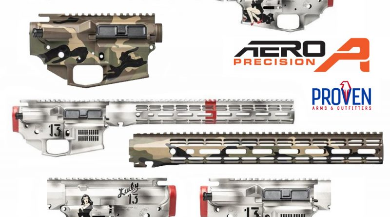 A limited number of limited edition Aero Precision AR build kits are currently available at PAO | Proven Arms & Outfitters.