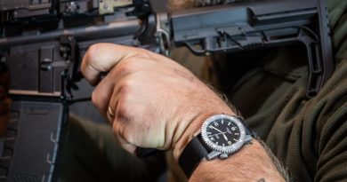 The first ARES Watch Co. release is a mission timer watch called the Diver-1.