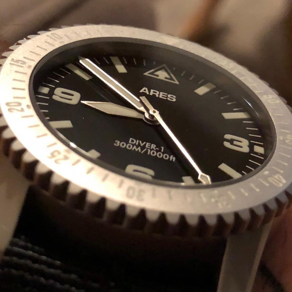 The Diver-1 from ARES Watch Co. is a mission timer made in Seattle.