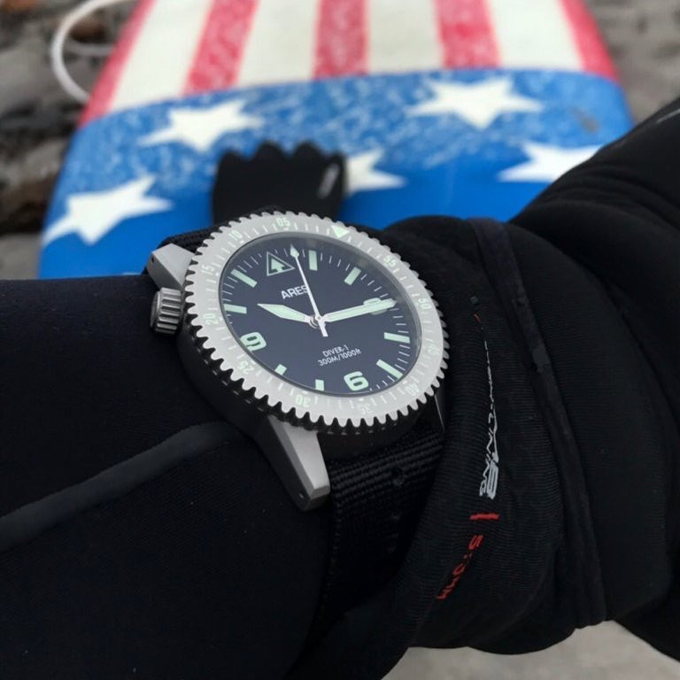 The Ares Watch Co. Diver 1 Mission Timer Watch - from Matt Graham of Graham Combat