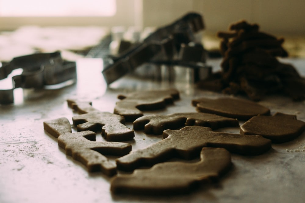 Firearm cookie cutters from Kitfox