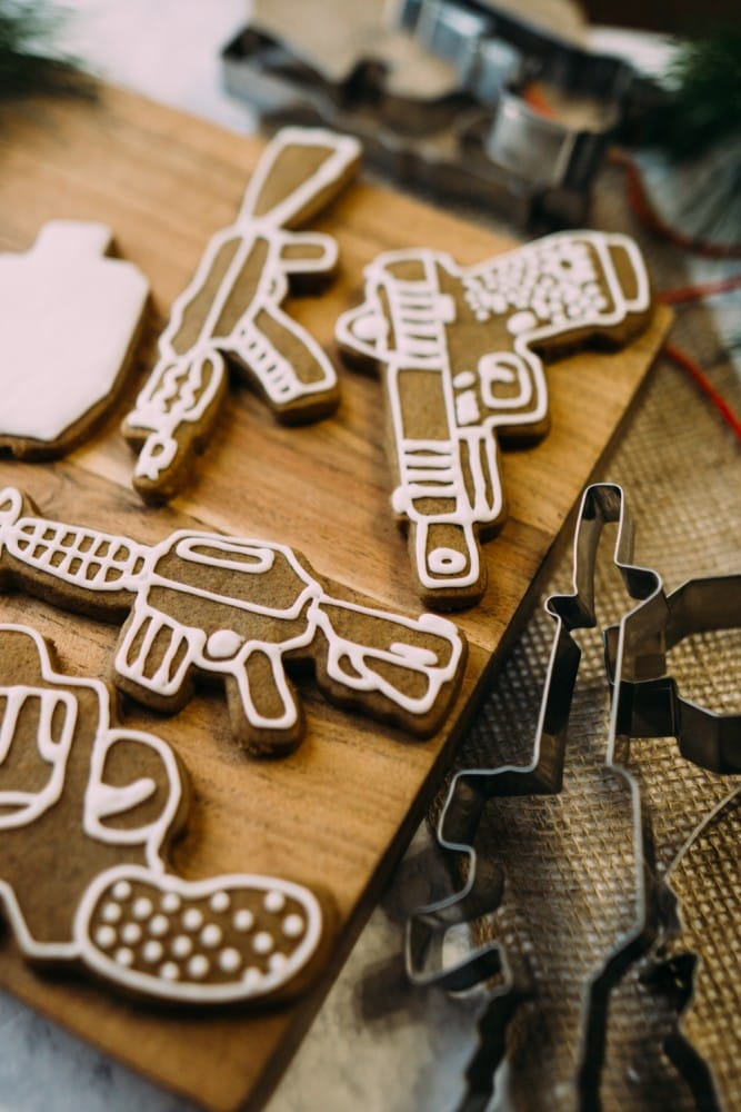 Stocking stuffer cookie cutters
