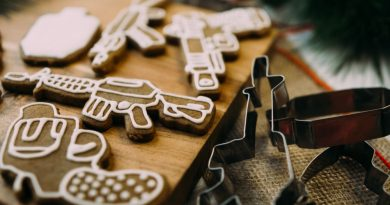 Stocking Stuffer Christmas cookie cutters