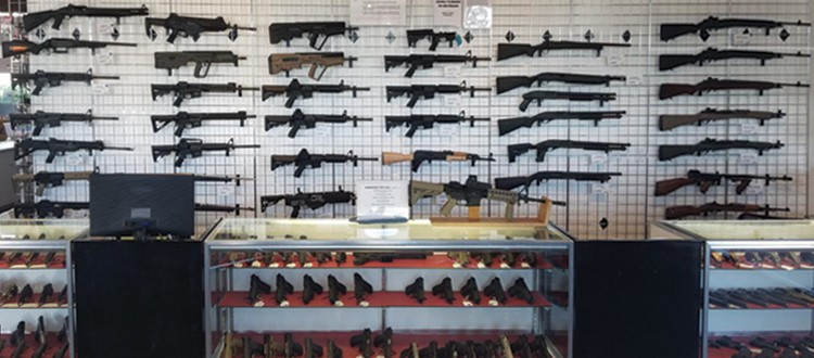 The Proven Arms gun store in Tacoma is one block south of Tacoma Mall and carries a huge selection of firearms and tactical gear.