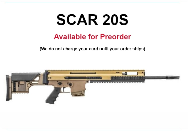 The SCAR 20S is now available for preorder at Proven Arms & Outfitters.