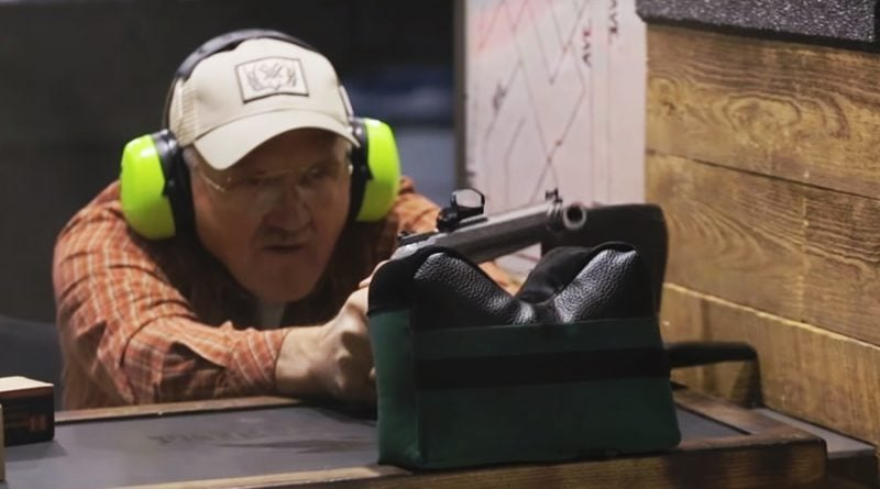 Propper brand ambassador Jerry Miculek with a 460 revolver.