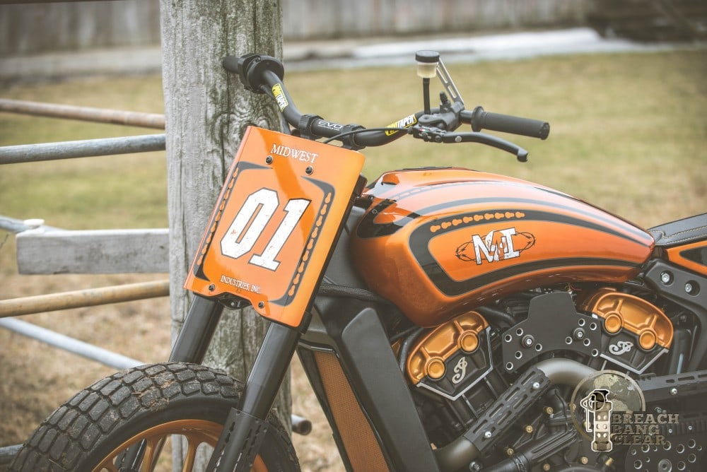 Midwest Industries Indian Scout Motorcycle